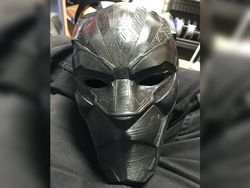 A mask fit for a king: Black Panther tribute by two Sacramento makers