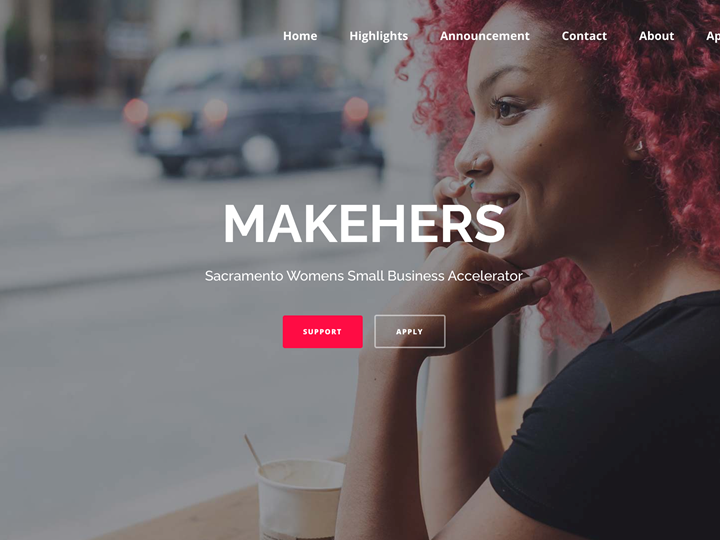 Join MAKEHERS: Women's Small Business Accelerator. Apps due 3/31!